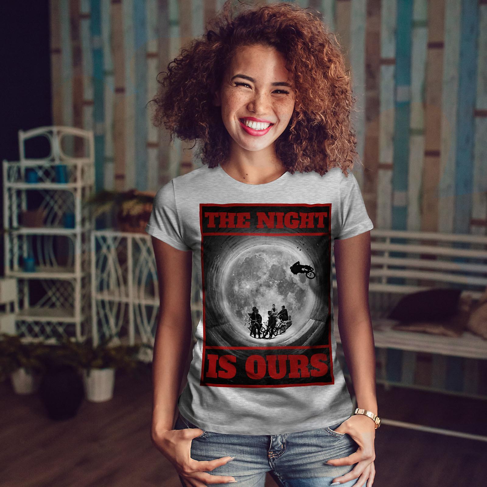 GreyT-chemise de nuit lune BMX Fashion femme | Wellcoda