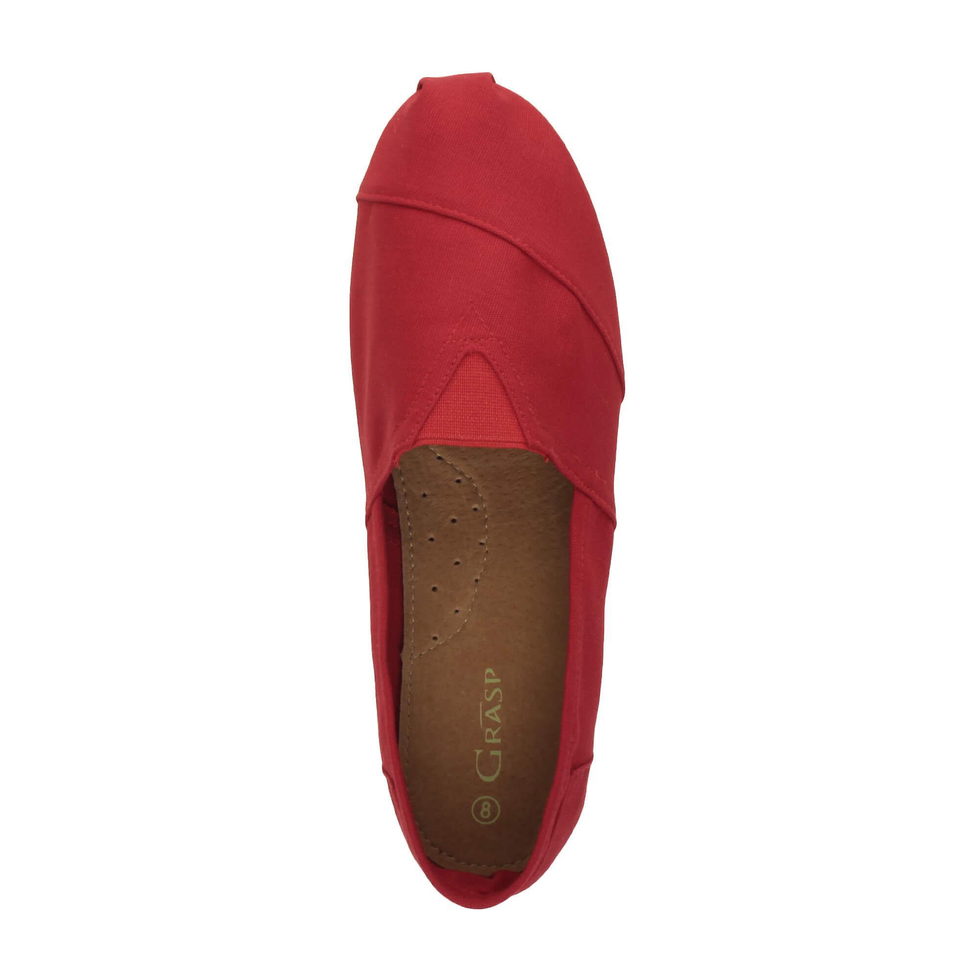 Espadrilles de semelle intérieure Ajvani mens cuir plate toile feuillet sur été pompes plimsoles espadrilles chaussures de pont