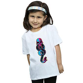 Harry Potter dziewczyny Neon ciemny znak T-Shirt