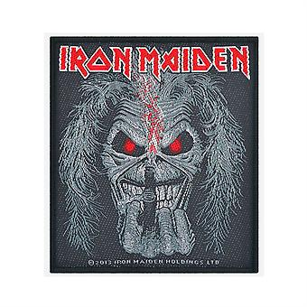 Iron Maiden Eddie Candle Finger Woven Patch
