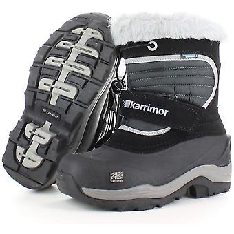 Karrimor Boys & Girls Blitz Waterproof Breathable Fur Lined Snowboots