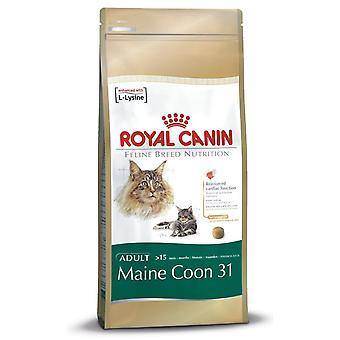 Royal Canin Maine Coon 31 Cat Adult Dry Cat Food Balanced and Complete Food 10kg