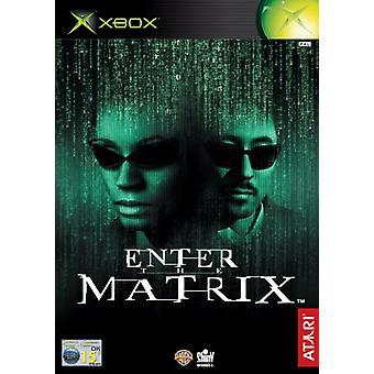 Voer de matrix (Xbox) in - als nieuw