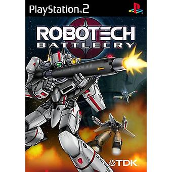 Robotech Battlecry (PS2) - New Factory Sealed
