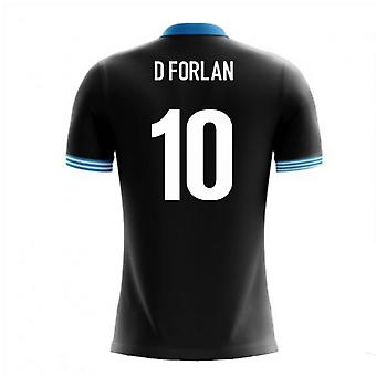 2020-2021 Uruguay Airo Concept Away Shirt (D Forlan 10)