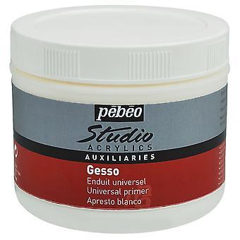 Pebeo Studio Acrylics witte Gesso Primer 500ml