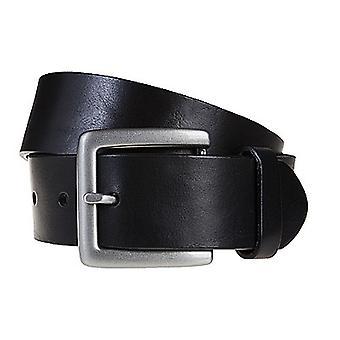 SAKLANI & FRIESE belts men's belts leather belt black 609