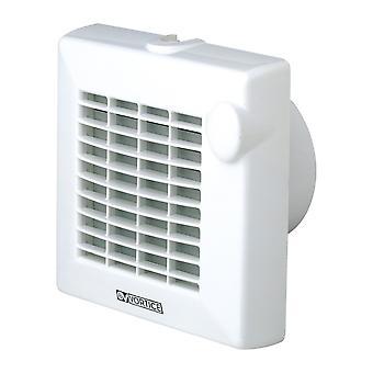 Ventilador de baño de la habitación pequeña Punto M 12 de 100 V con y sin automático interno obturador 90 m³/h