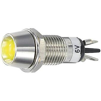 SCI LED indicator light Yellow 6 V DC R9-115L 6 V YELLOW