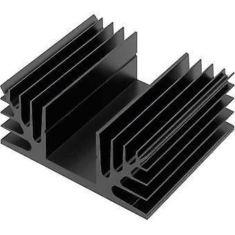 CTX Thermal Solutions CTX08/75 Heat sink 1.8 K/W (L x W x H) 75 x 88 x 35 mm