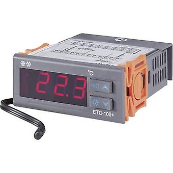 VOLTCRAFT ETC-100+ Temperature controller NTC10K -40 up to +120 °C 10 A relay (L x W x H) 88 x 75 x 34.5 mm