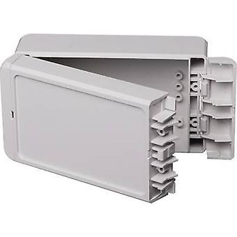Bopla Bocube B 140806 ABS-7035 96033125 Custodia a parete, staffa di montaggio 80 x 151 x 60 Acrilonitrile butadiene stirene Grigio-bianco (RAL 7035) 1 pc