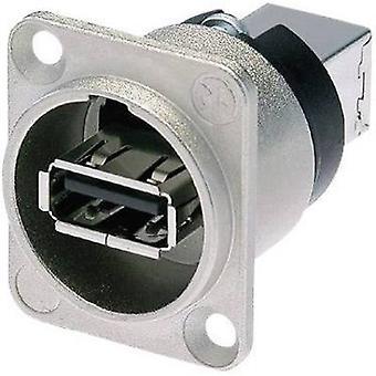 Neutrik NAUSB-W reversível USB-colocando 2,0 soquete, built-na postura