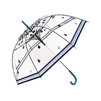 Gerade klare Regenschirm (Regentropfen)