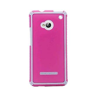 Body Glove Tactic Brushed Series Case for HTC One/M7 (Raspberry/Silver) - 9342301