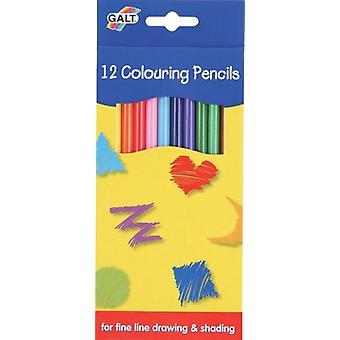 Galt 12 lápices de color