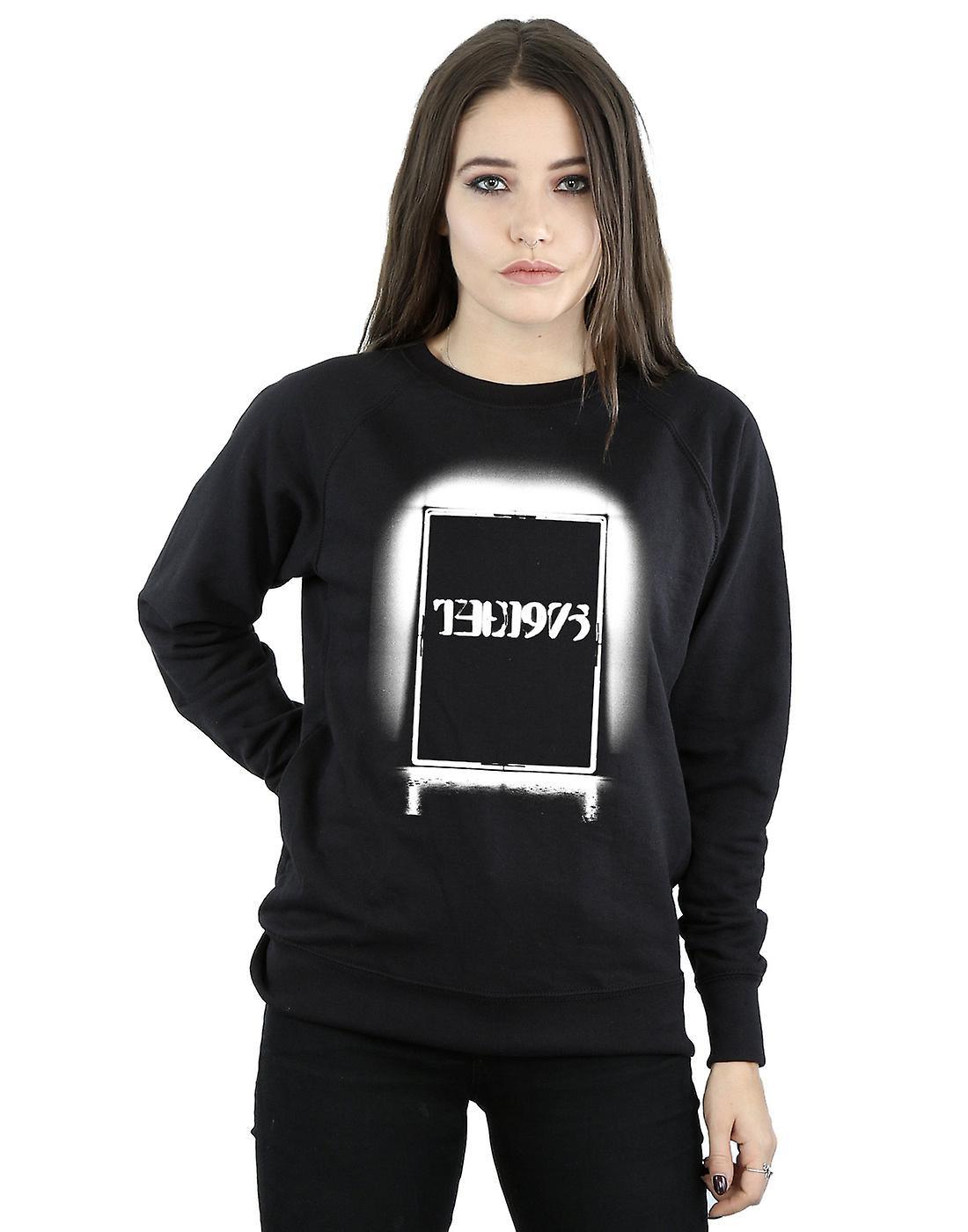 The 1975 Women's Black Tour Sweatshirt