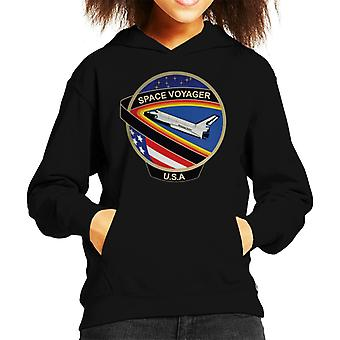NASA STS 61C Space Shuttle Columbia Mission Patch Kids Hooded Sweatshirt