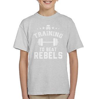 Original Stormtrooper-Ausbildung zum Beat Rebellen Kinder T-Shirt