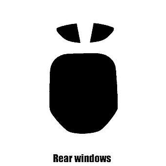 Pre gesneden venster tint - BMW i8 - 2014 en nieuwer - achterzijde windows