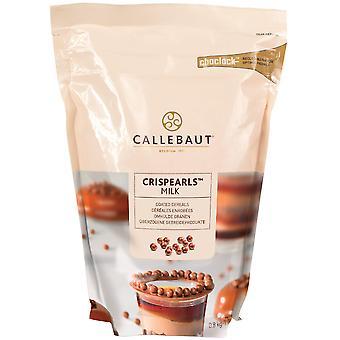 Crispearls latte cioccolato Callebaut