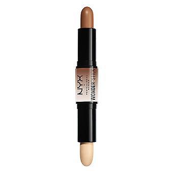 NYX PROF. make-up wonder stick highlight & contour-universeel