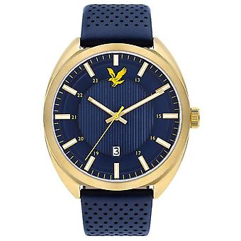 Lyle and Scott Tevio Watch - Blue/Blue