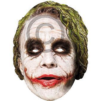Joker Card Face Mask