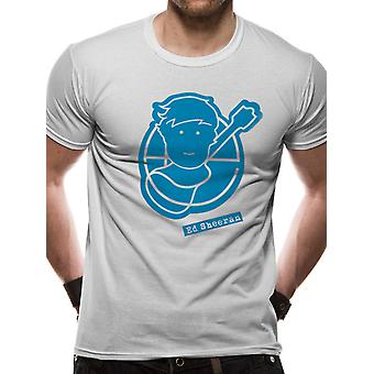 Ed Sheeran-Pictogram Logo T-Shirt