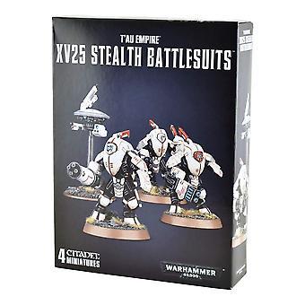 Games Workshop Warhammer 40.000 Tau Empire Xv25 Stealth Battlesuits