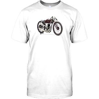 Garelli Italiaanse klassieke motorfiets-mens T shirt