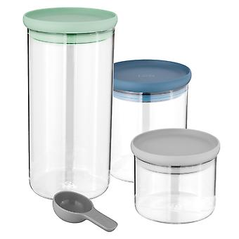BergHOFF 3 PCs. Glass food container set