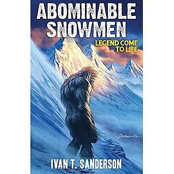 Bonhommes de neige abominable: Légende s'animent