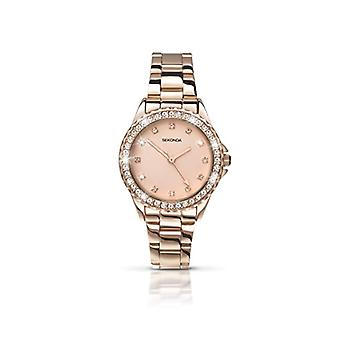 Sekonda wrist watch, Analog, female, other, pink gold