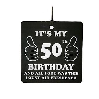 50-й день рождения паршивый автомобилей освежитель воздуха
