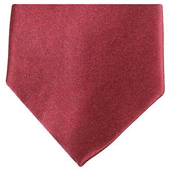 Knightsbridge Neckwear vanlige Polyester uavgjort - Mørkerød
