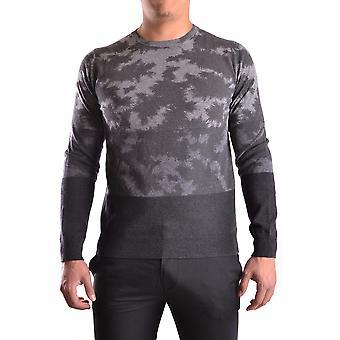 Paolo Pecora Ezbc059009 Men's Grey Wool Sweater