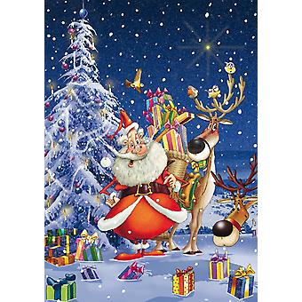 Piatnik Ruyer Happy Santa Jigsaw Puzzle (1000 Pieces)