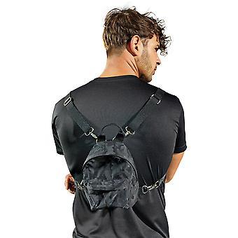 Mirada al aire libre hombres camuflaje ajustable Mini mochila mochila