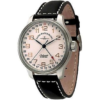 Zeno-watch reloj OS puntero retro fecha 8554Z-f2
