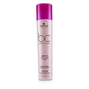 Schwarzkopf Bc Bonacure Ph 4.5 Color Freeze Sulfate-free Micellar Shampoo (for Coloured Hair) - 250ml/8.5oz