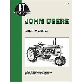 John Deere Shop Manual - Series A - B - G - H - Models D - M by Haynes