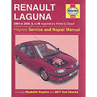 Renault Laguna Petrol and Diesel (1994-2000) Service and Repair Manua