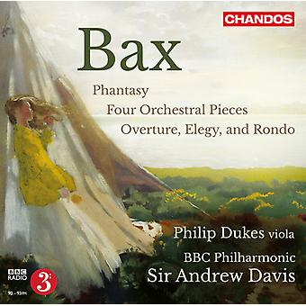 Baxter/Dukes/BBC Phil/Davis - Orchestral Works [CD] USA import