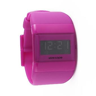 Wize and Ope Classic  Purple Digital  Watch WO-ALL-7