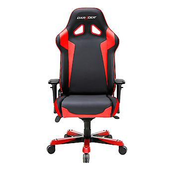 DX Racer DXRacer OH/SJ00/NR High-Back Gaming Chair PU Executive Desk Chair(Black/Red)