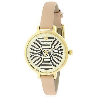 Kate Spade New York Metro Vachetta Leather Ladies Watch KSW1031