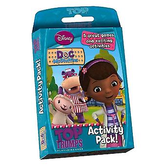 Top Trumps - Doc Mcstuffins Activity Pack