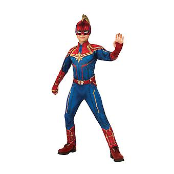 Child Captain Marvel Hero Suit