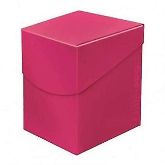 Ultra Pro 85691 Eclipse pro 100 + caixa de deck Hot Pink